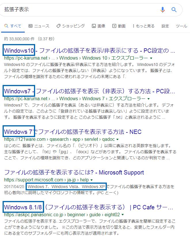 パソコンの最低限の知識 ITリテラシーが向上するパソコンの使い方(設定)について。拡張子を表示していない人は上級者になれません